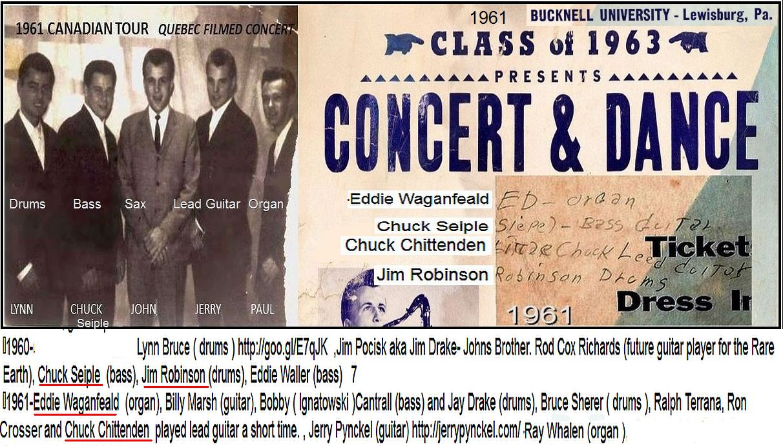 J&H Poster PA Musicians 1961